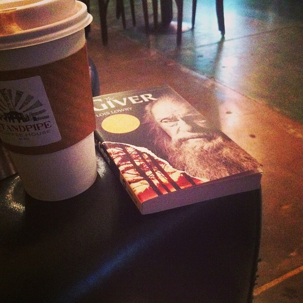 the giver and coffee